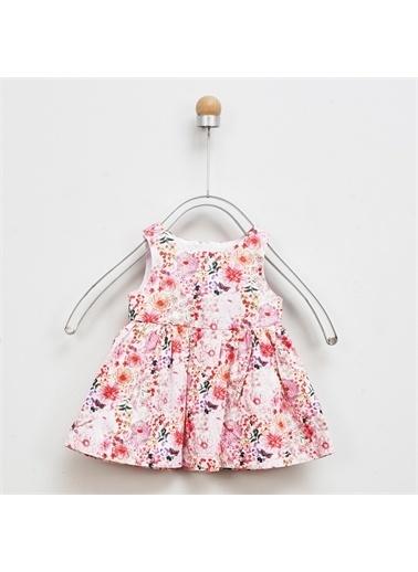 Panço Kız Bebek Elbise 2011GB26020 Renkli